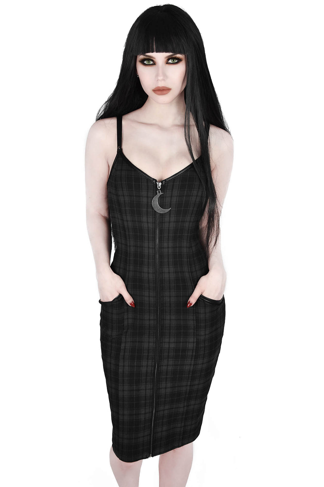 Darklands Midi Dress [TARTAN]