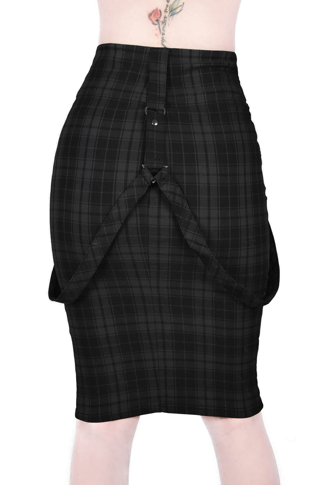 Darklands Pencil Skirt [TARTAN]