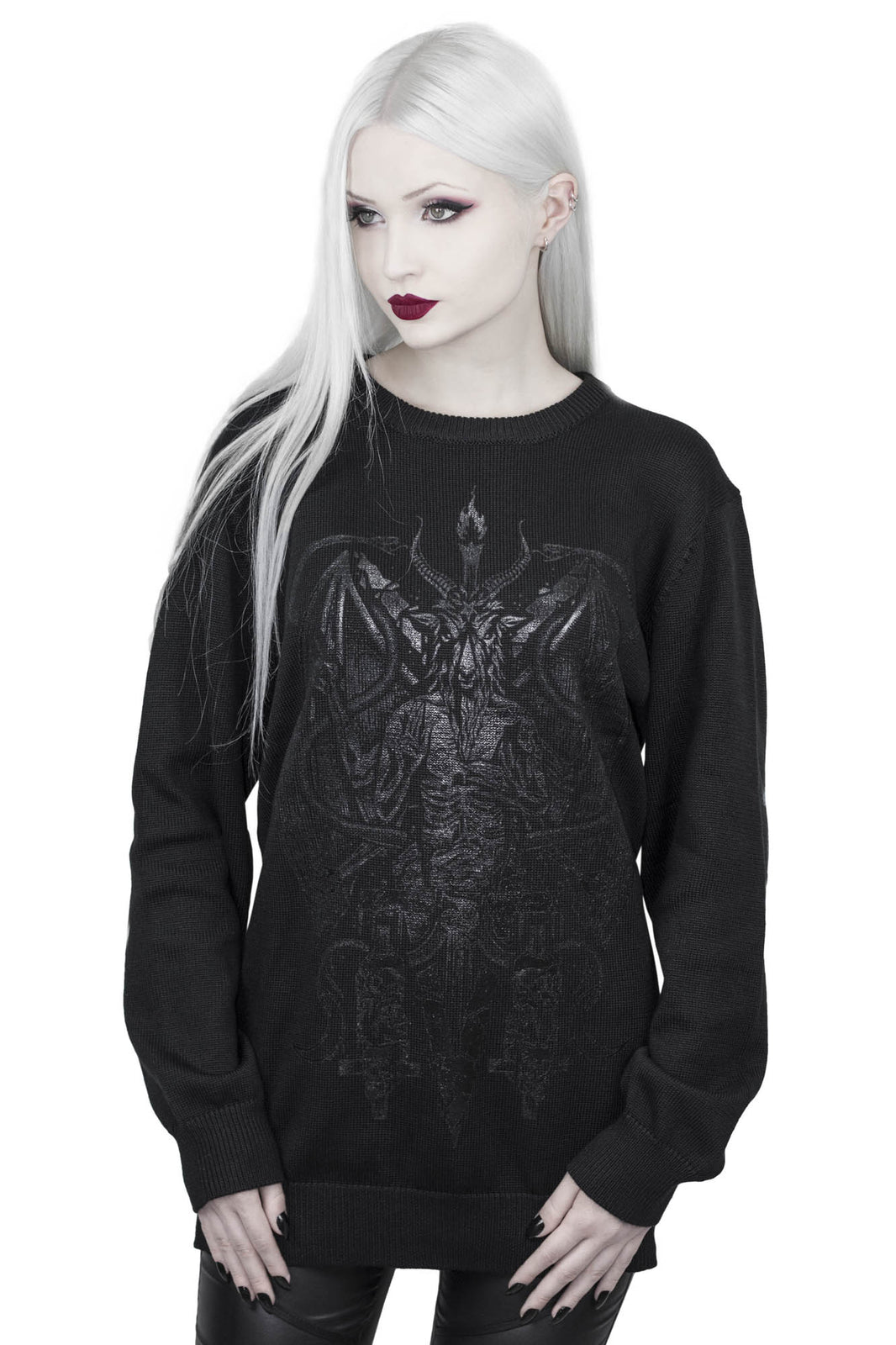 Dark Prince Knit Sweater