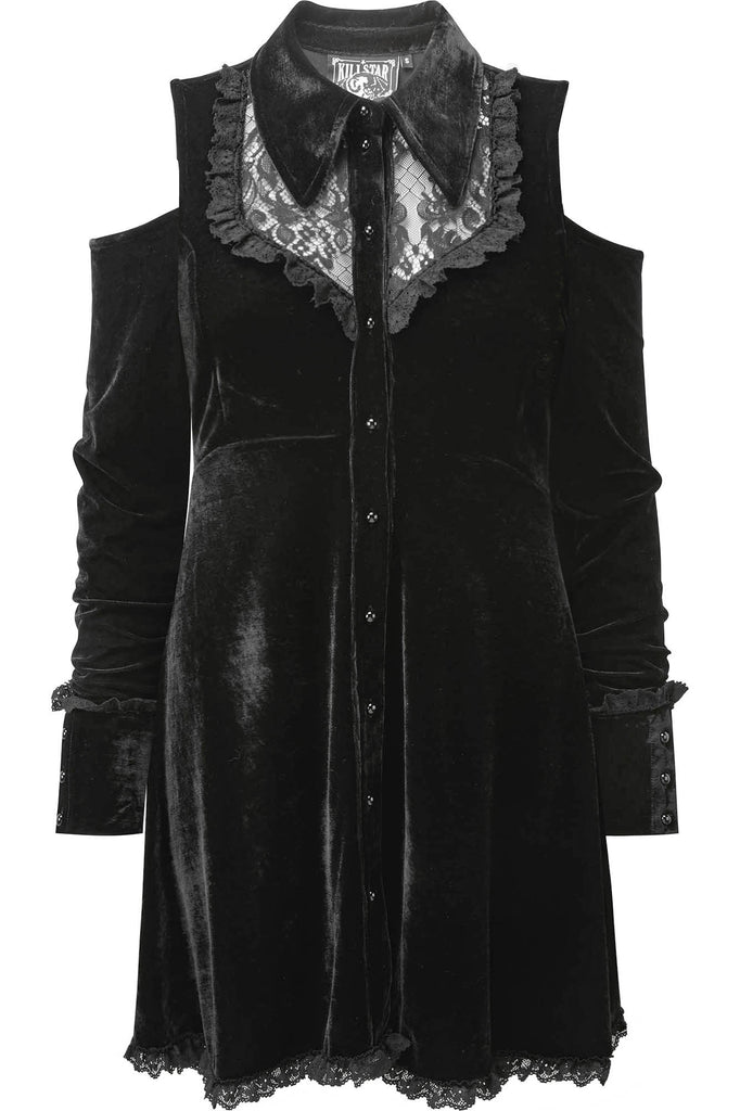 Dead Silent Shirt Dress [B] [PLUS]