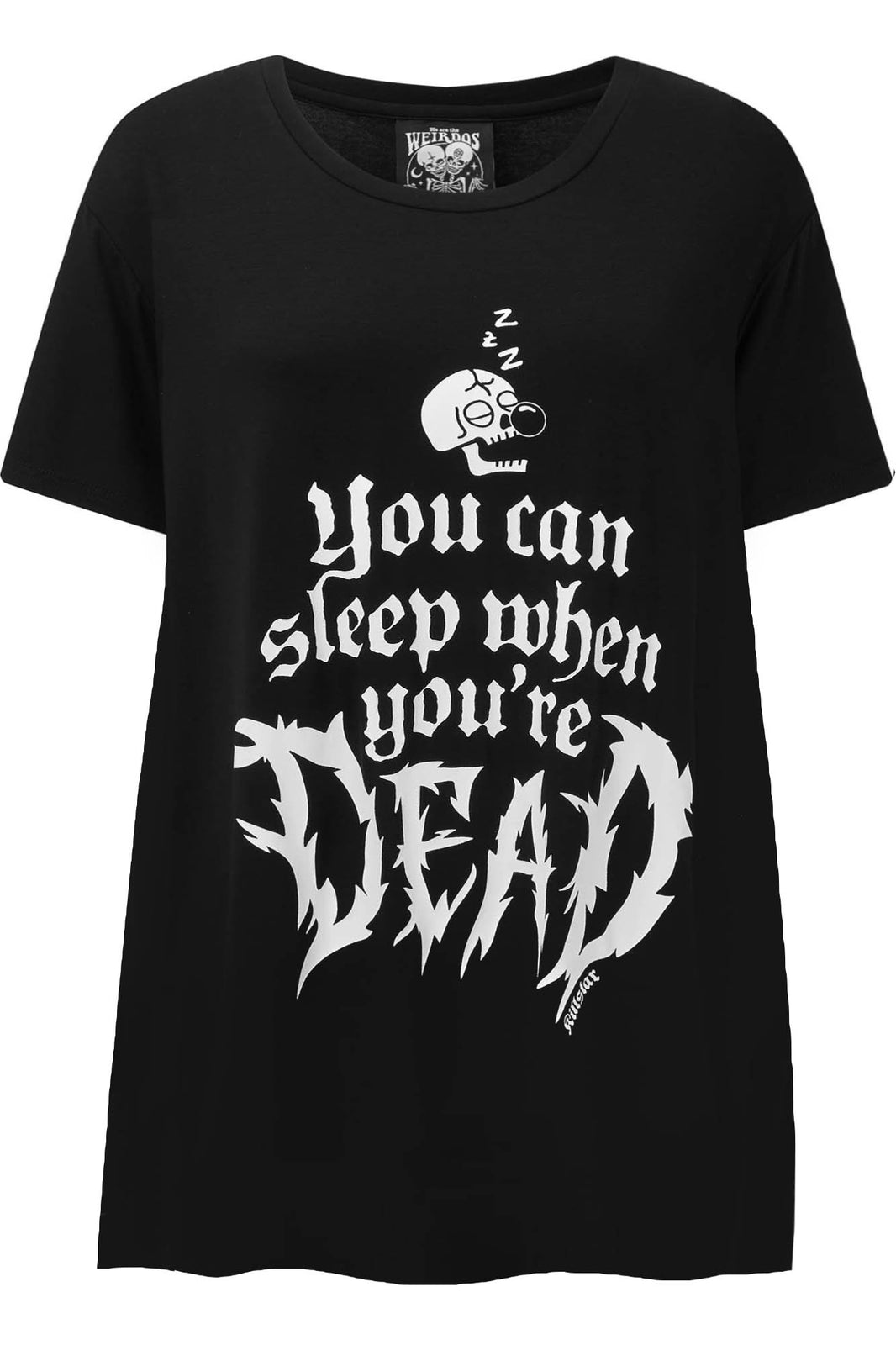 Dead Sleepy Sleep-Shirt [PLUS]