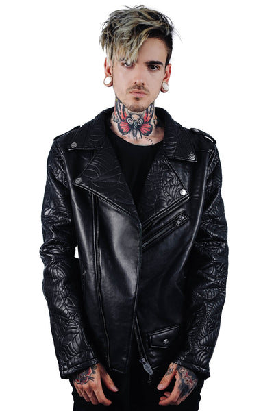 Death Rawk Biker Jacket [B]