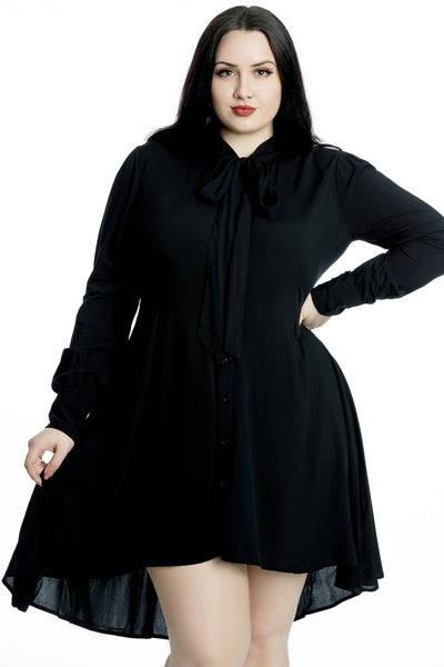 Death's Door Shirt Dress [PLUS]
