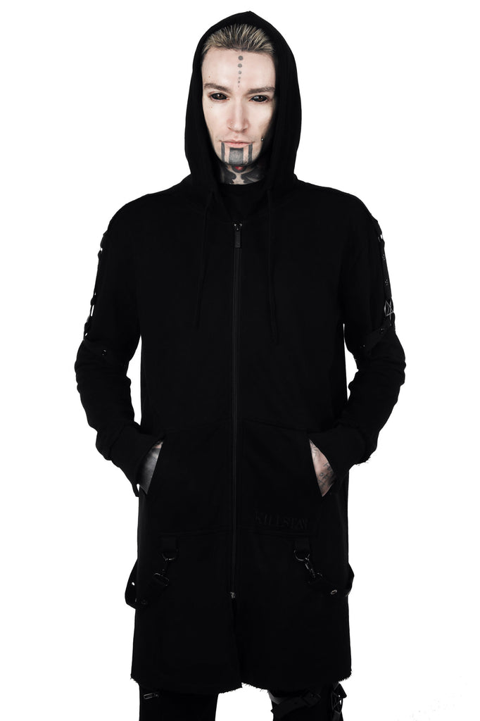Death Wish Long Hoodie [B]