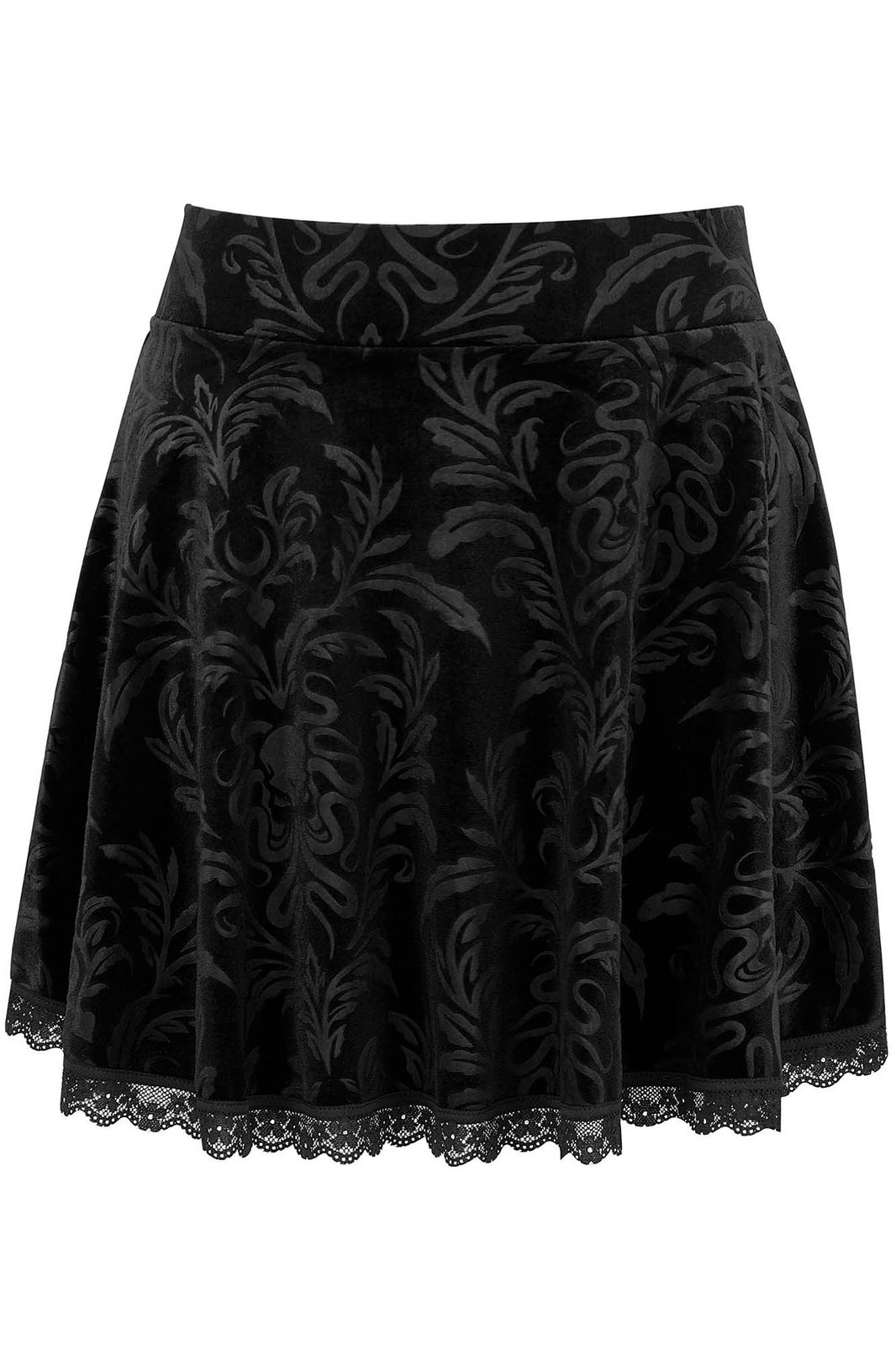 Depths Skater Skirt [PLUS]