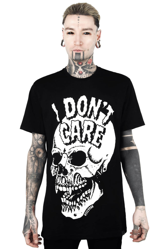 Don't Care T-Shirt [B]