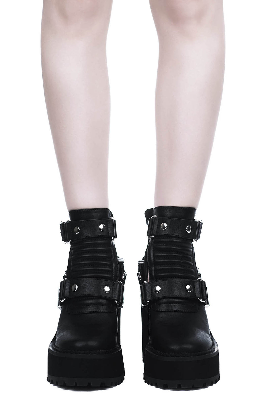 Electra Cut-Out Heels [B]