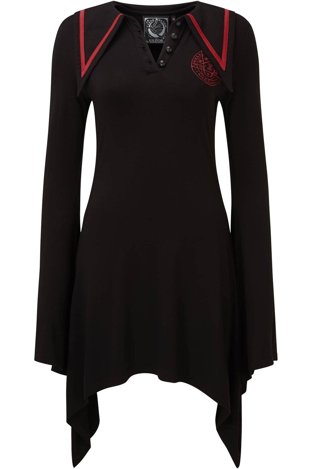 En-Crypted Collar Dress