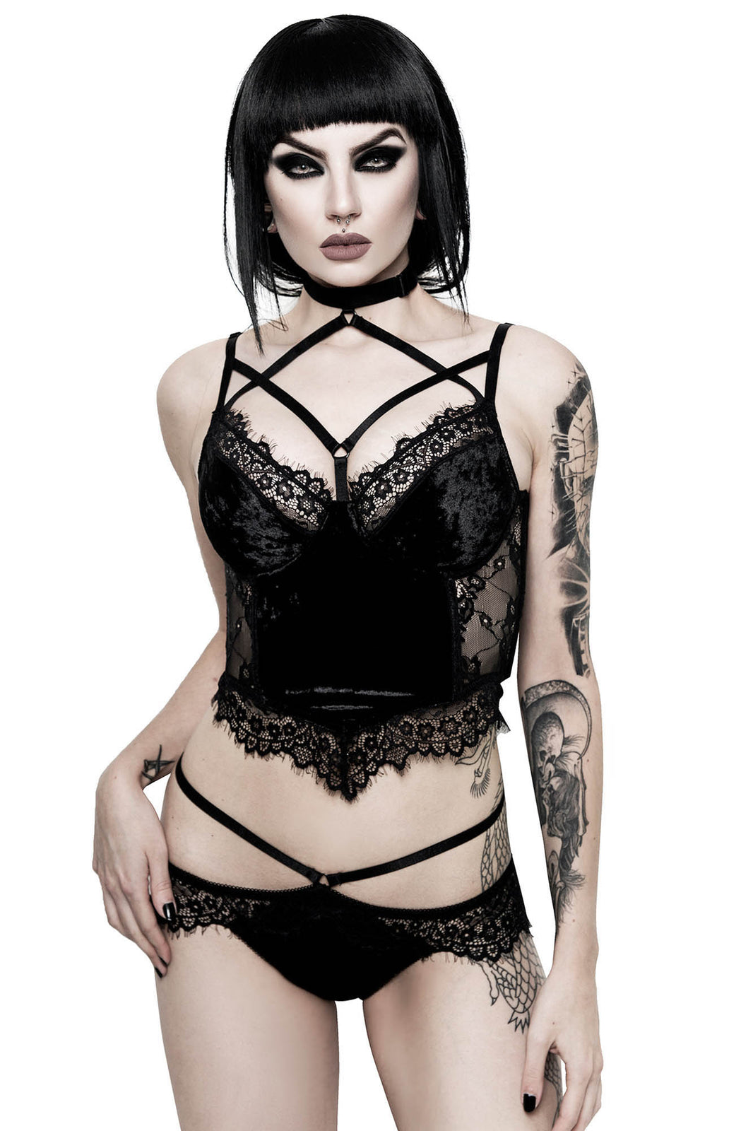 Ever Ayla Lace Bralet