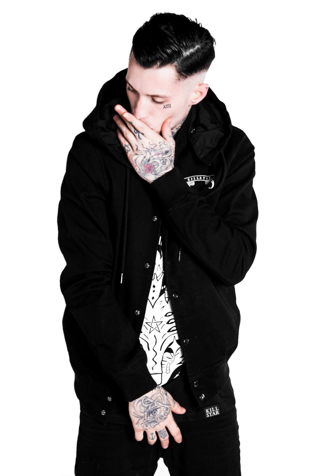 Fact Hood Bomber Jacket [B]