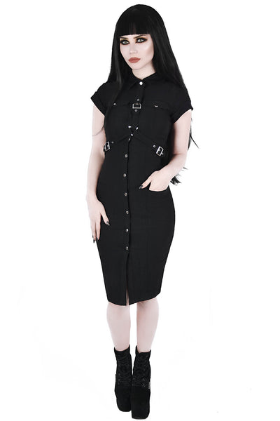 Force Field Harness Dress