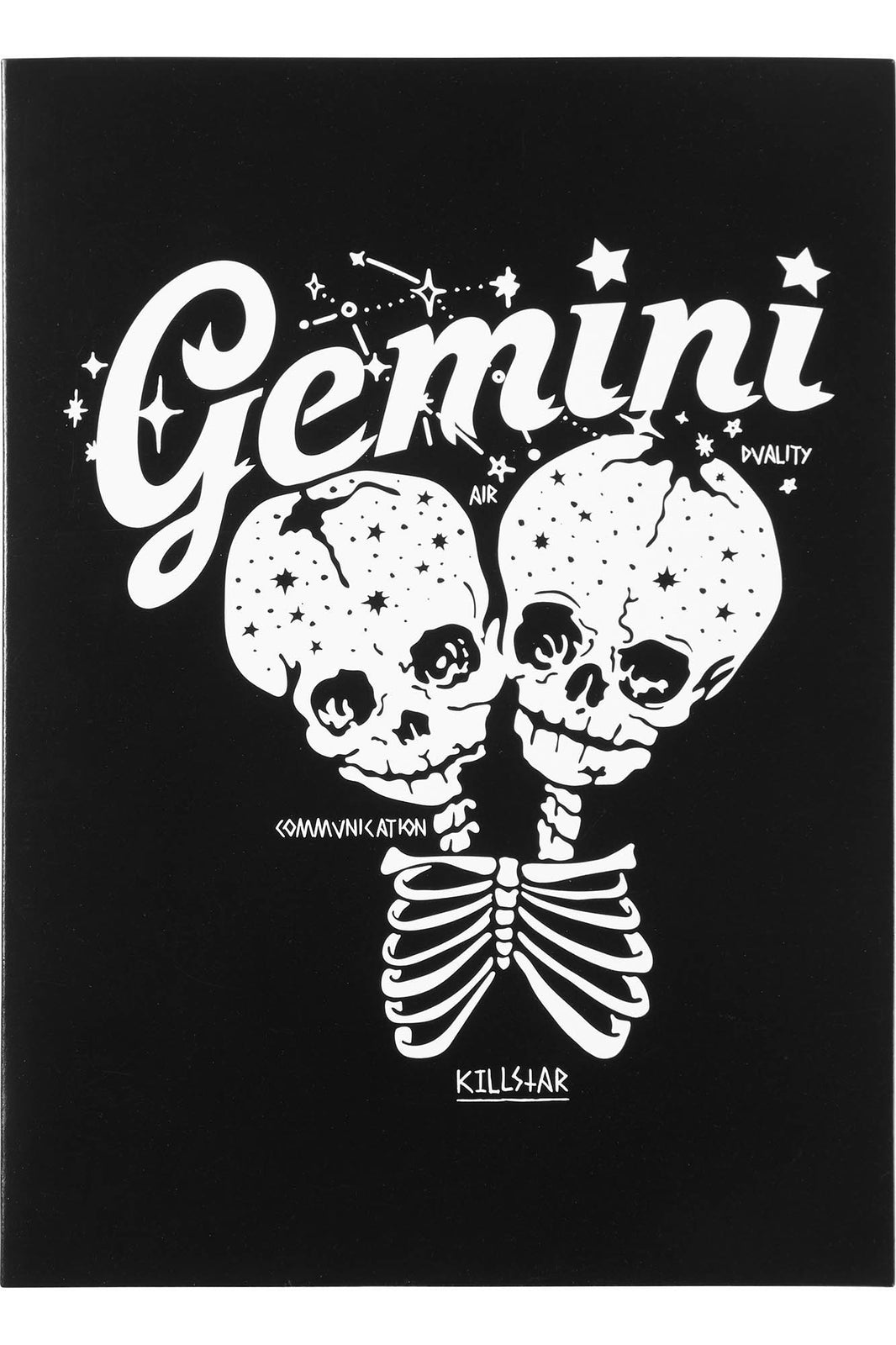 Gemini Greeting Card
