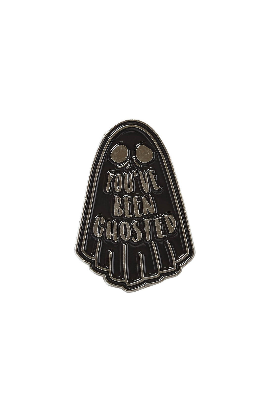 Ghosted Enamel Pin