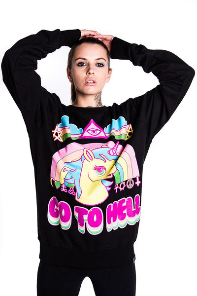 Go To Hell Sweatshirt [B]