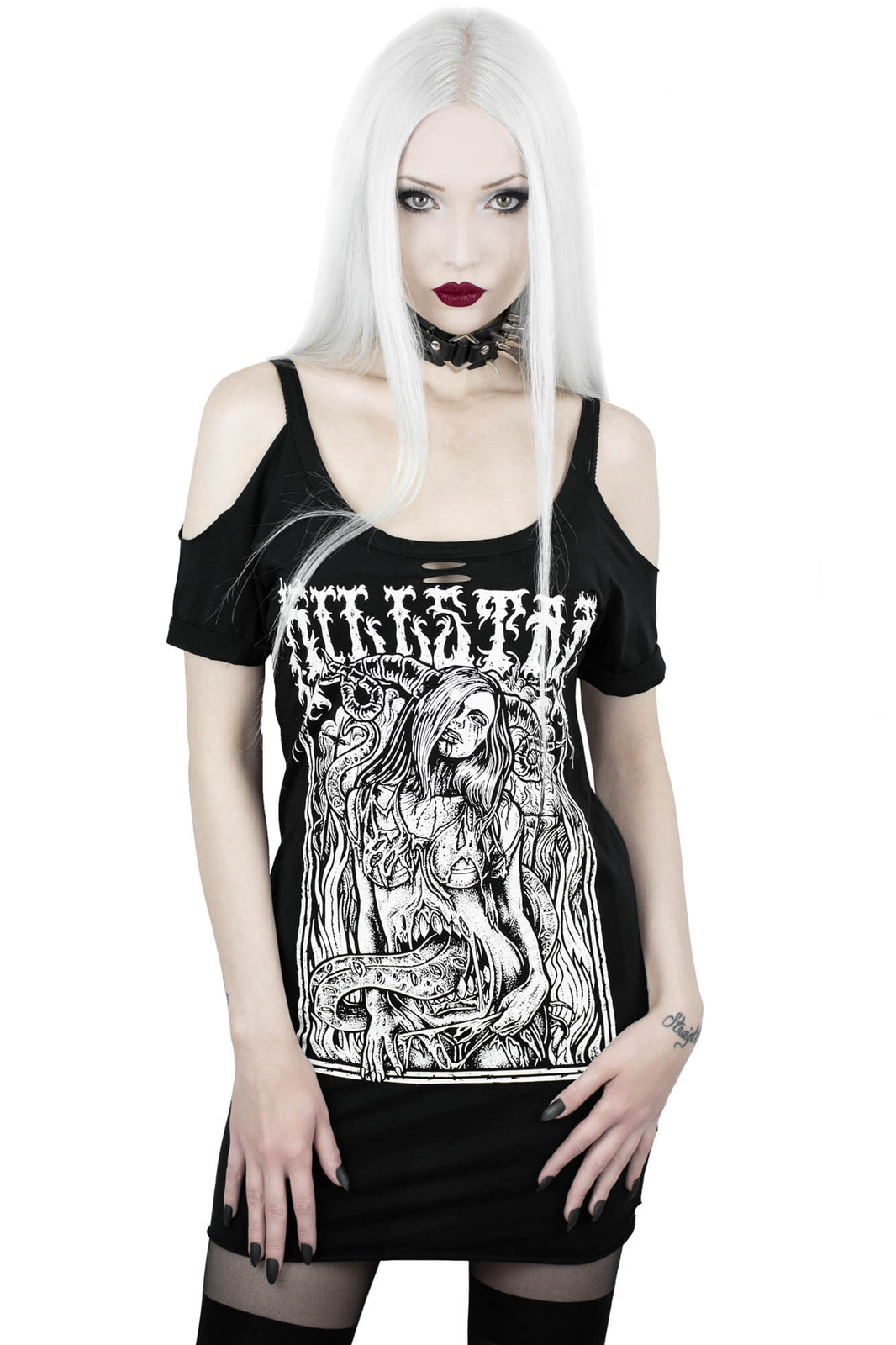 Gory Distressed Top