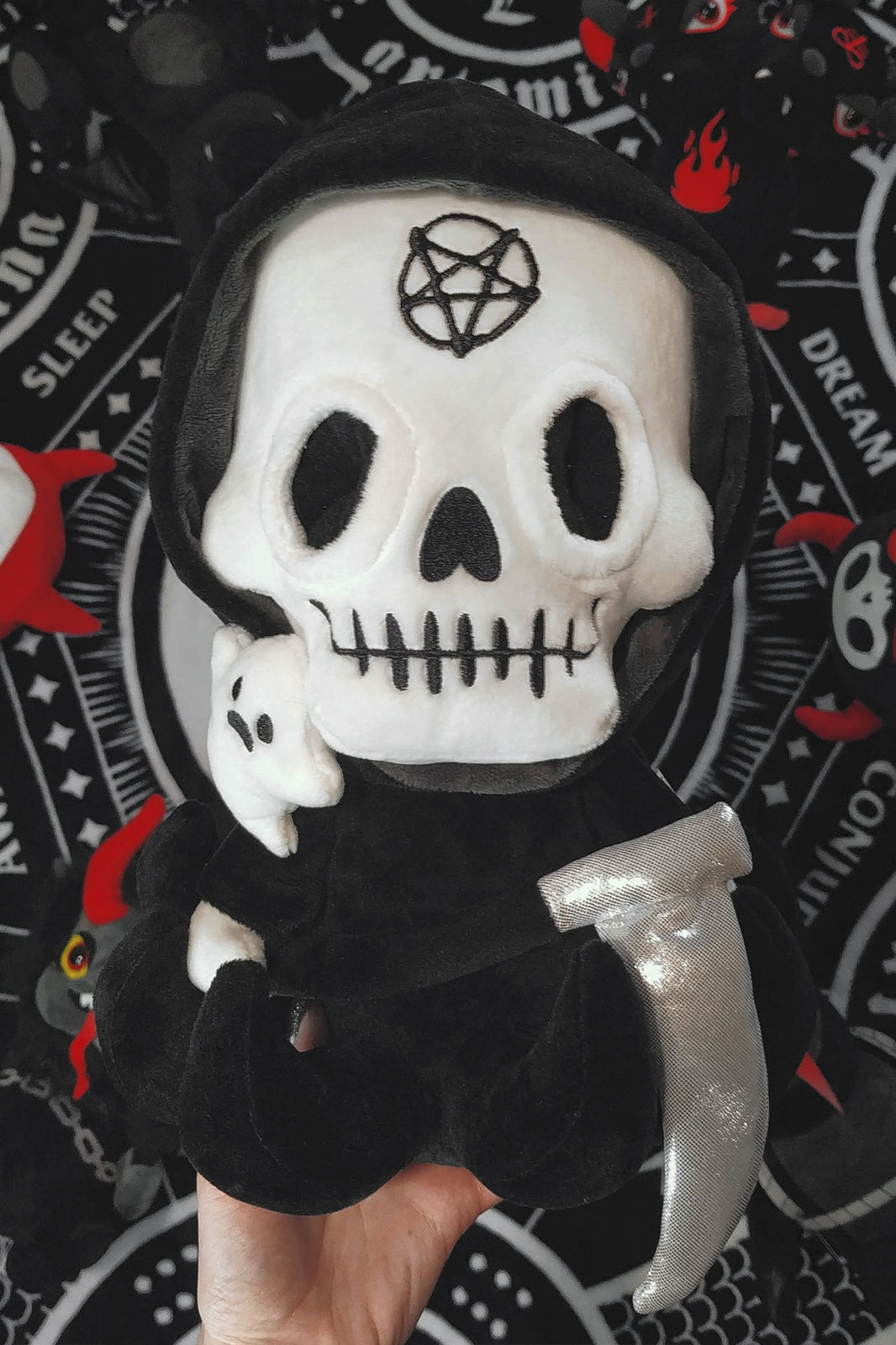 Grim Reaper Plush Toy