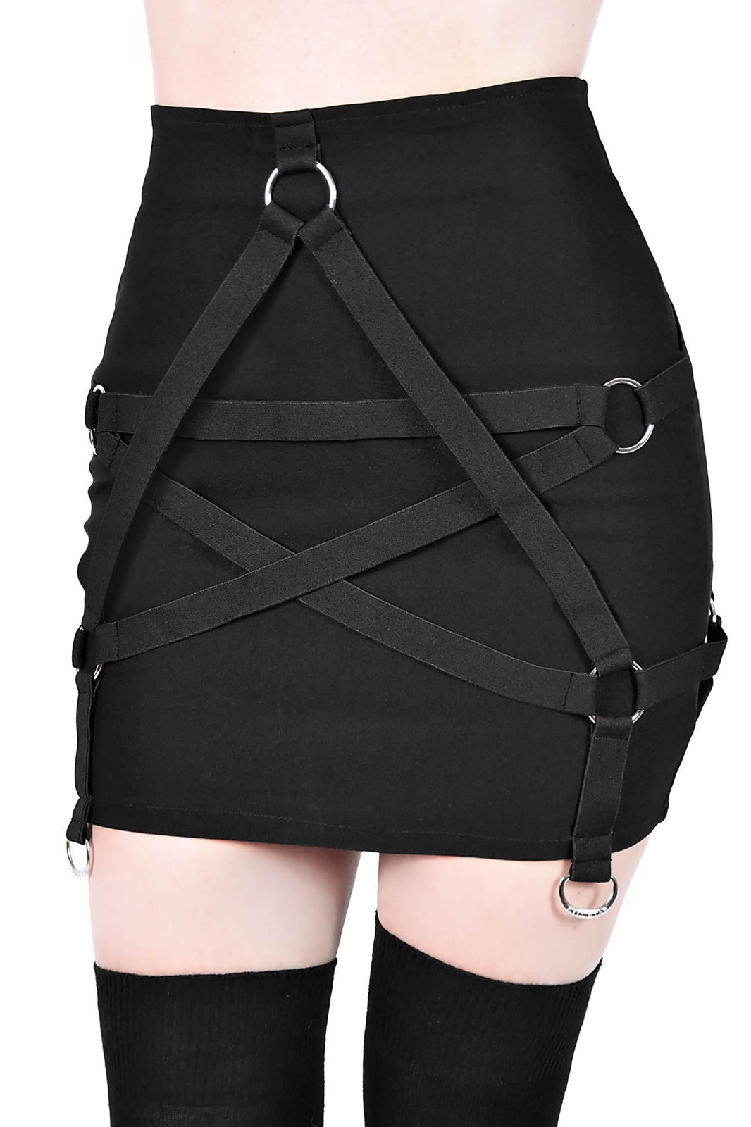 Harness Ur Power Mini Skirt