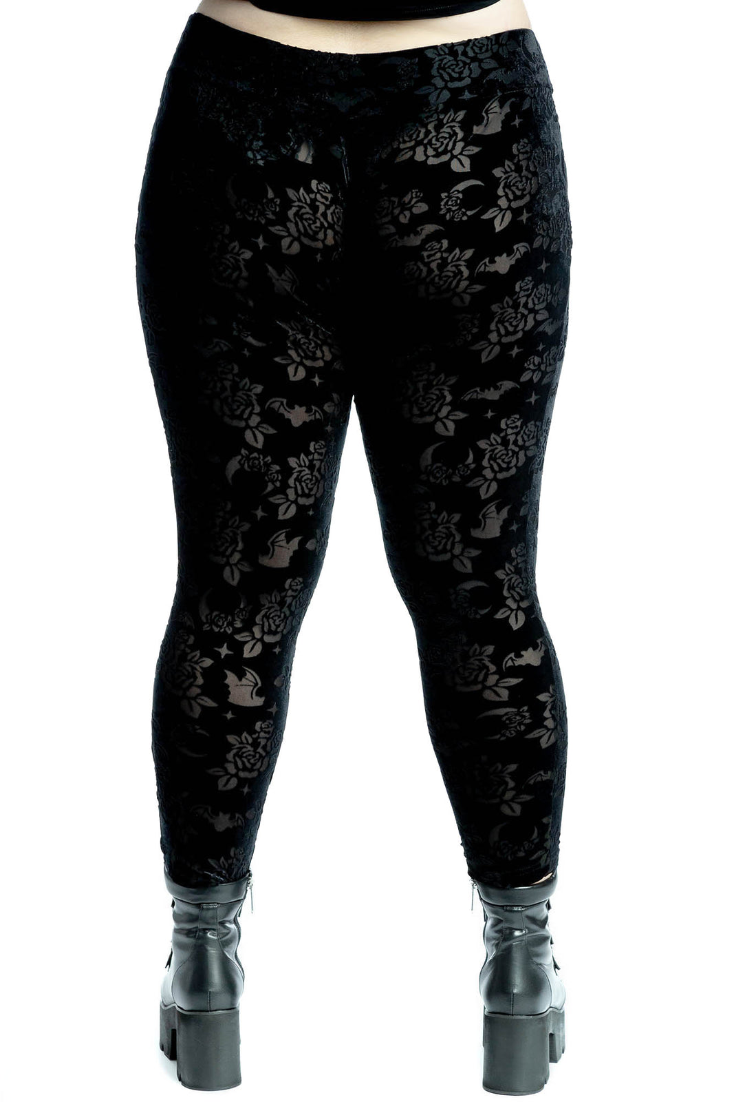 Hayzel Velvet Leggings [PLUS]