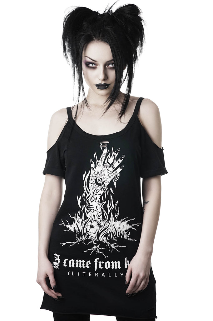 Hell Distress Top