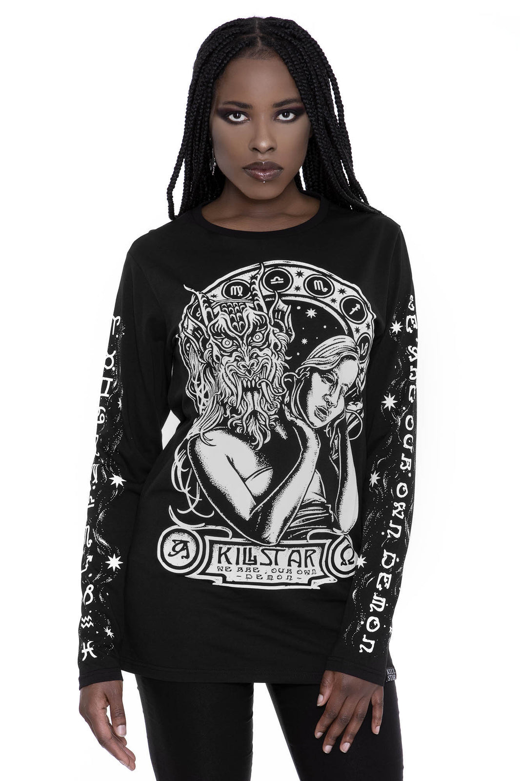 Hey Demon Long Sleeve Top