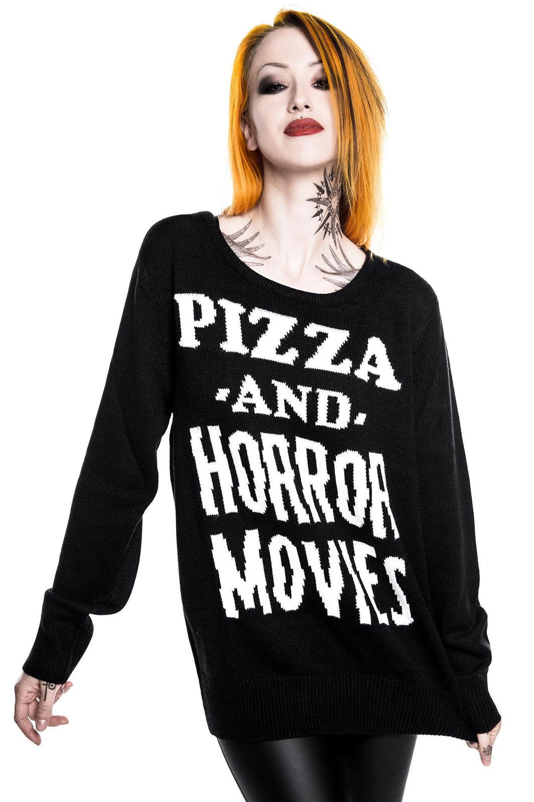 Horror Stayin In Knit Sweater [B]