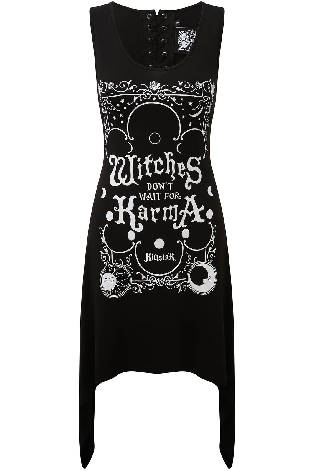 Karma Lace-Up Tunic