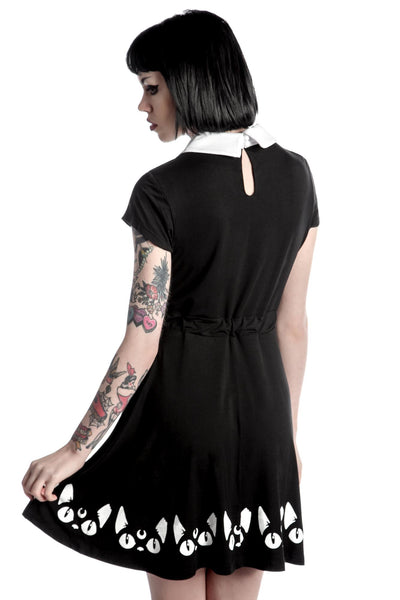 Keiko Kitty Skater Dress [B]