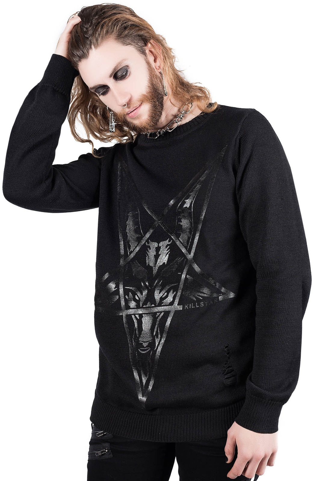 King Of The Damned Knit Sweater
