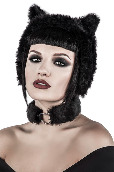 Le Chat Noir Ear Muffs [B]