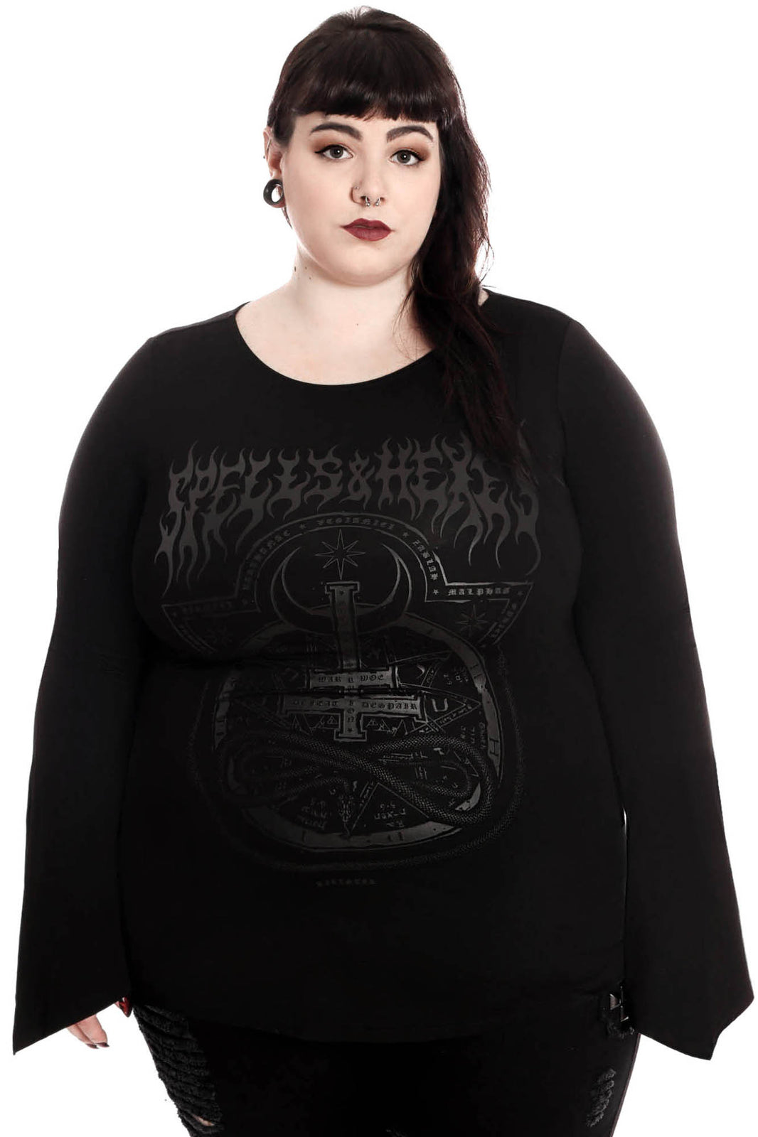 Leya Long Sleeve Top [PLUS]