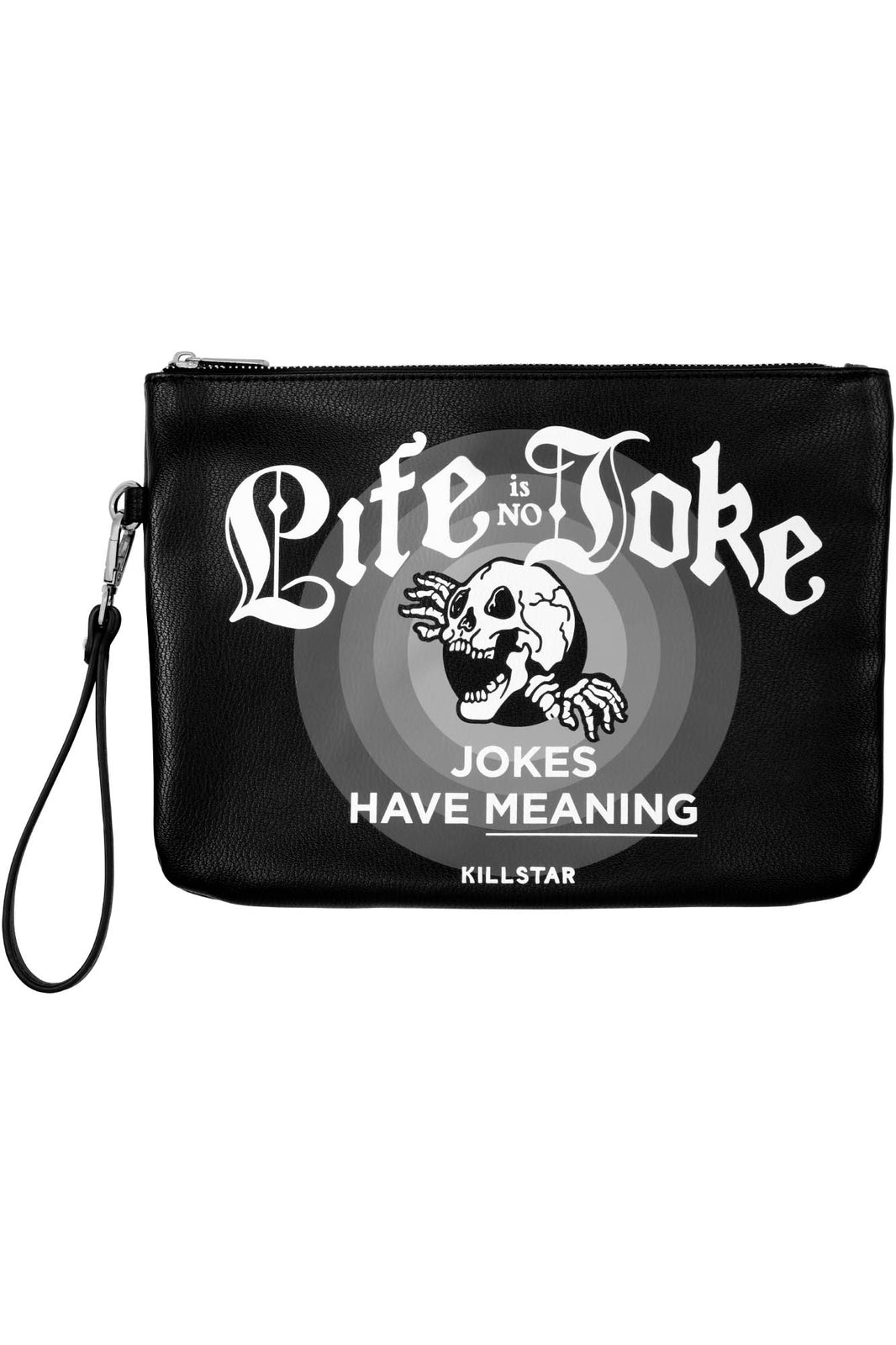 Life is No Joke Makeup Bag