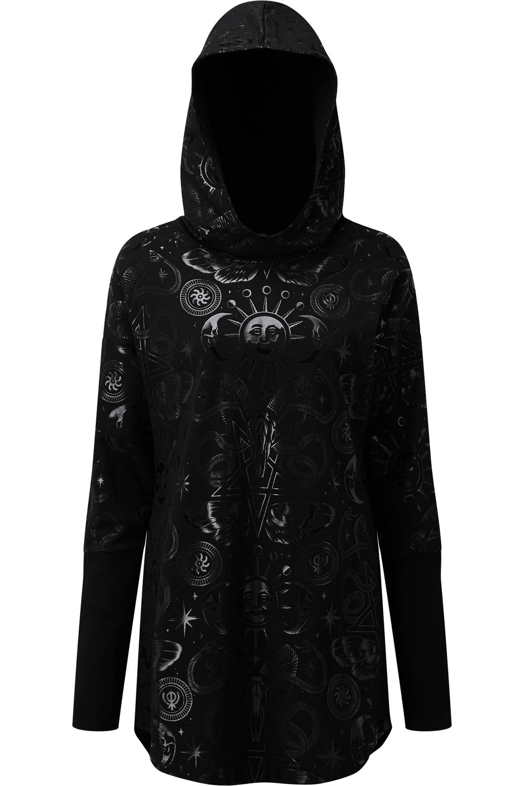 Lift The Veil Hood Tunic