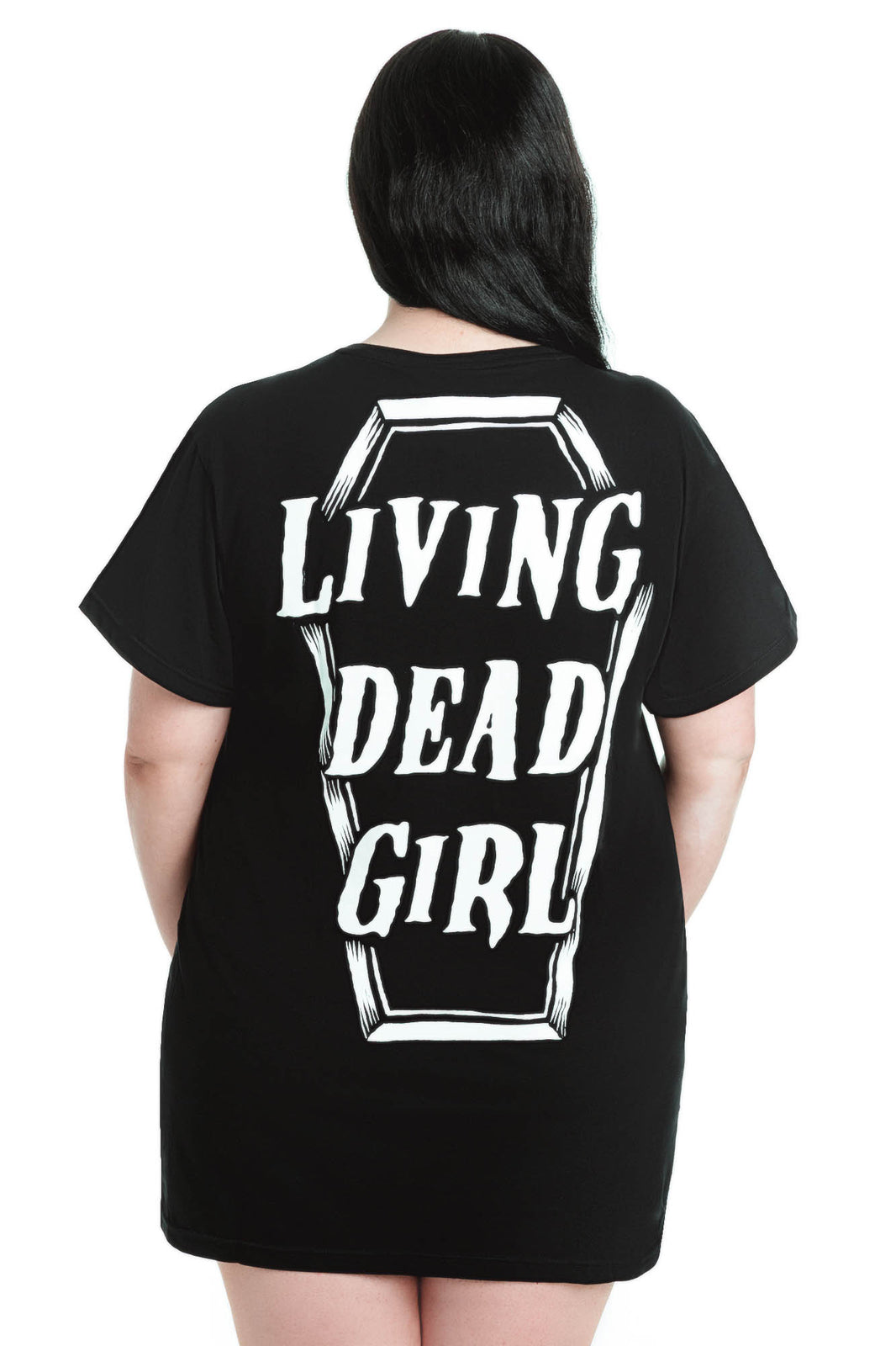 Living Dead Girl Dead BF Top [PLUS]