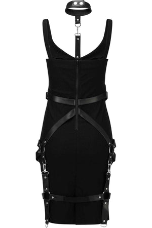 Locked Away Midi Dress [B]