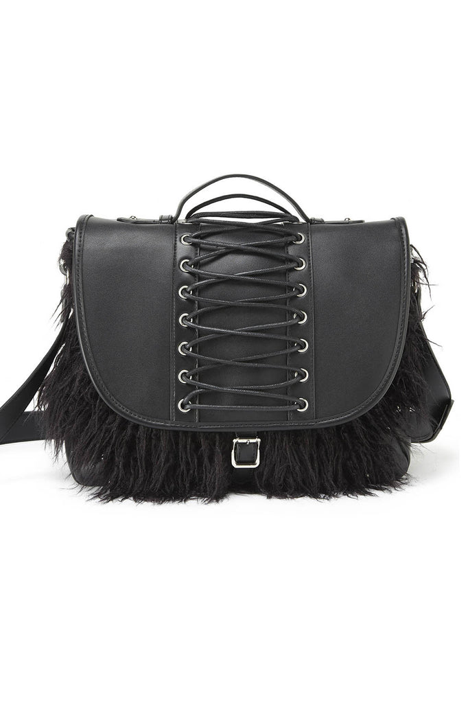 Loke Fur Messenger Bag [B]