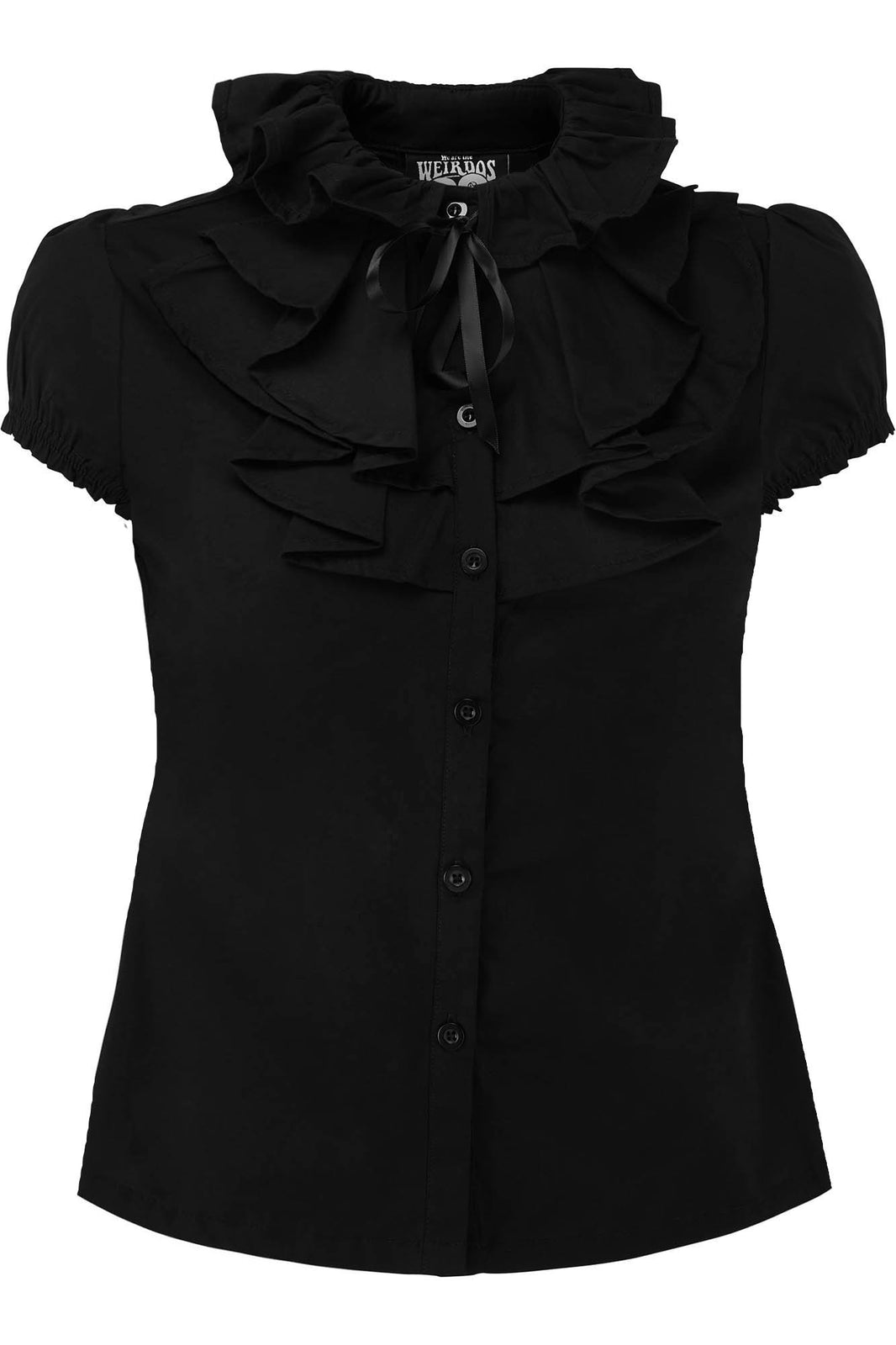 Lorai Ruffle Shirt [PLUS]