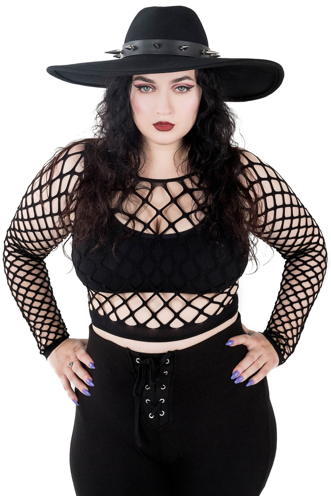 Lunatrix Fishnet Top