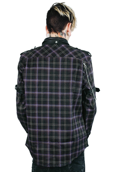 Lux Button-Up Shirt [TARTAN]