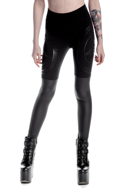 Metal Descent Leggings [B]