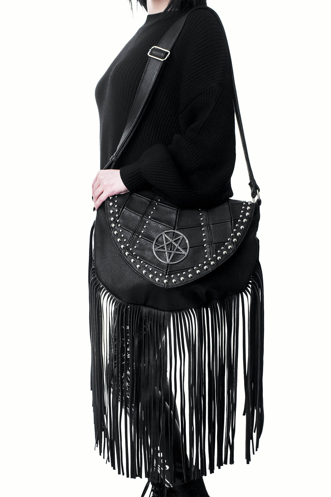 Metal Lyfe Fringe Bag