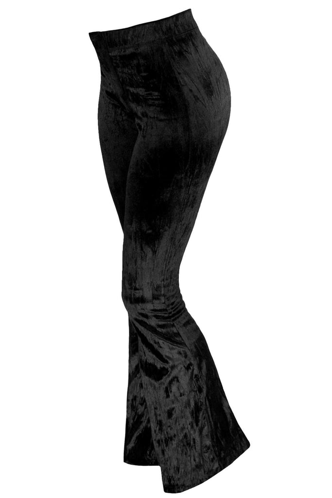 Midnight Velvet Bell Bottoms [B]