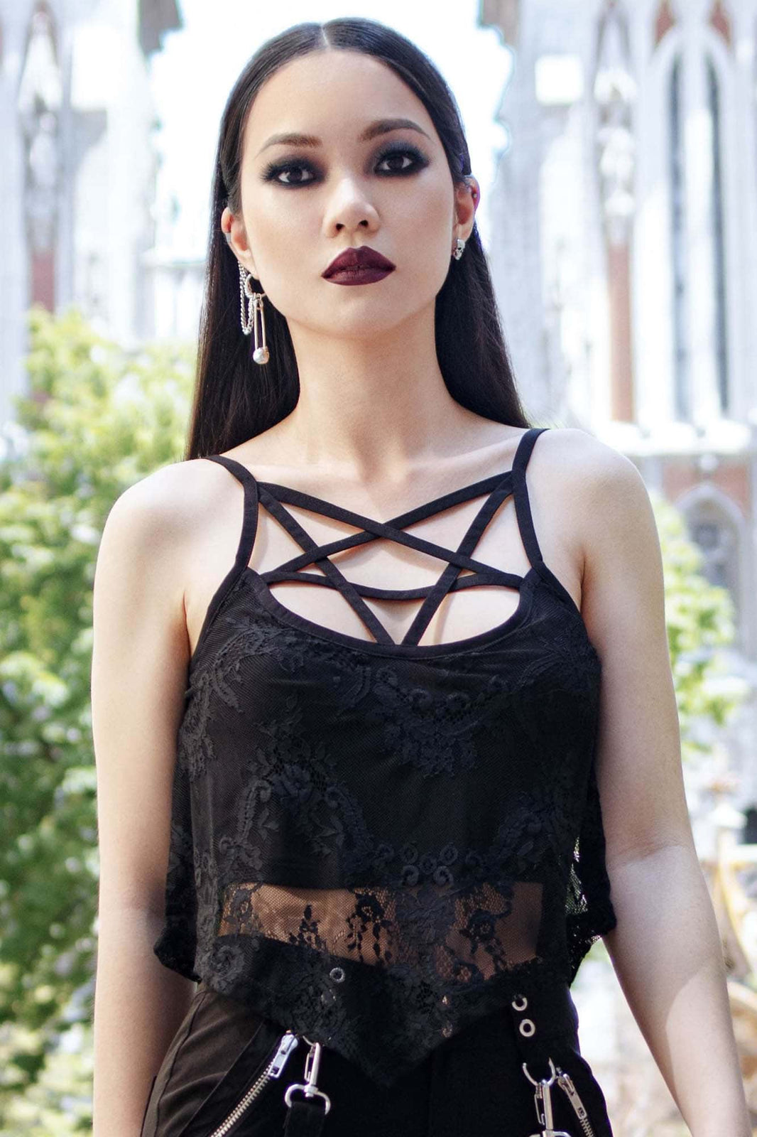 Midnight Sun Lace Vest