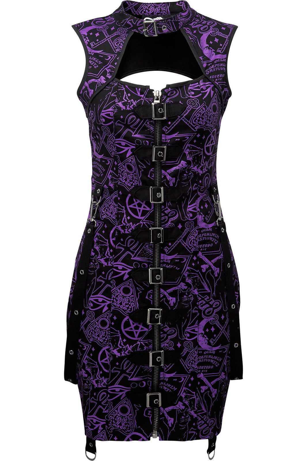Miss Morbid Buckle-Up Dress [B]