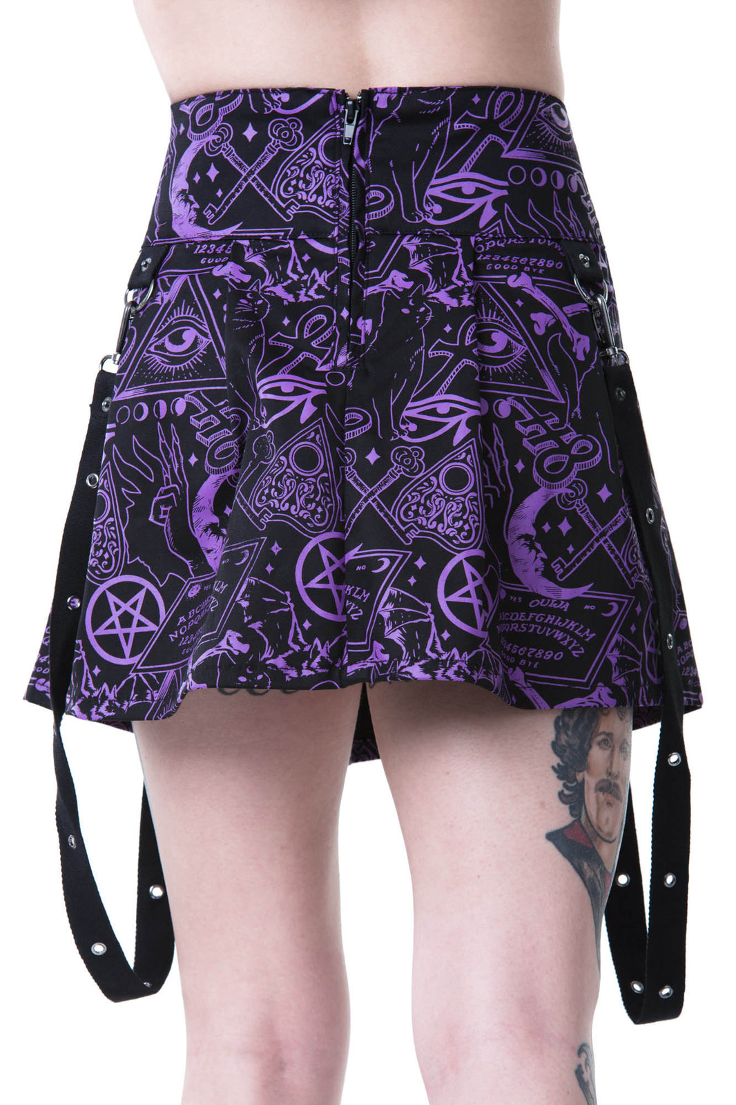 Miss Morbid Mini Skirt [B]