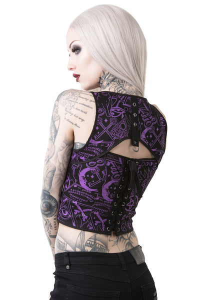 Miss Morbid Hold Tight Top [B]