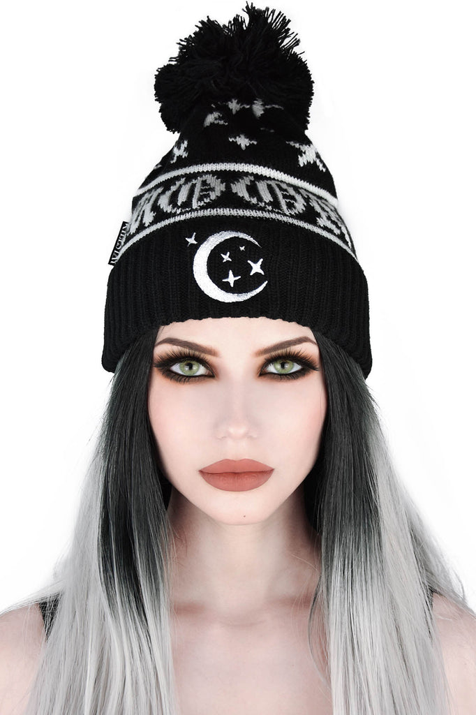 Moonscape Bobble Hat