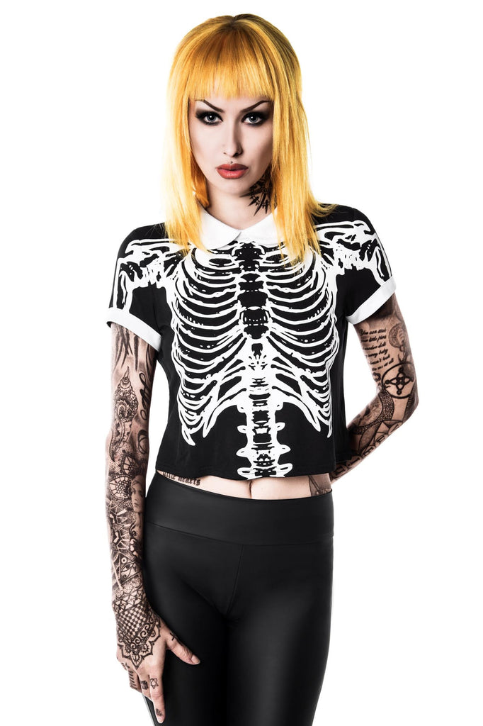 Morgue Mistress Crop Top [B]