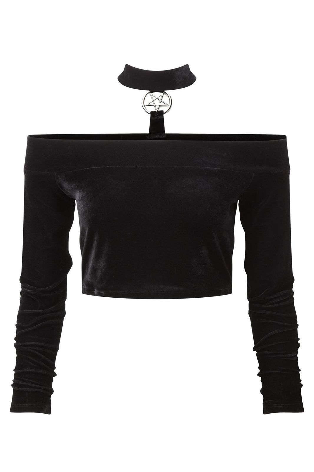 Mortuary Unholy Bardot Top [B]