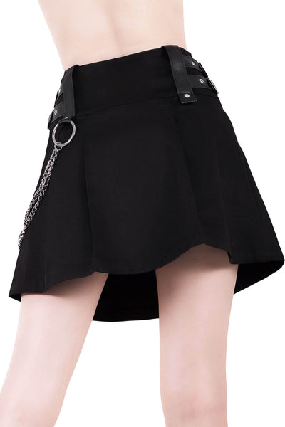 Nancy Pleated Mini Skirt [B]