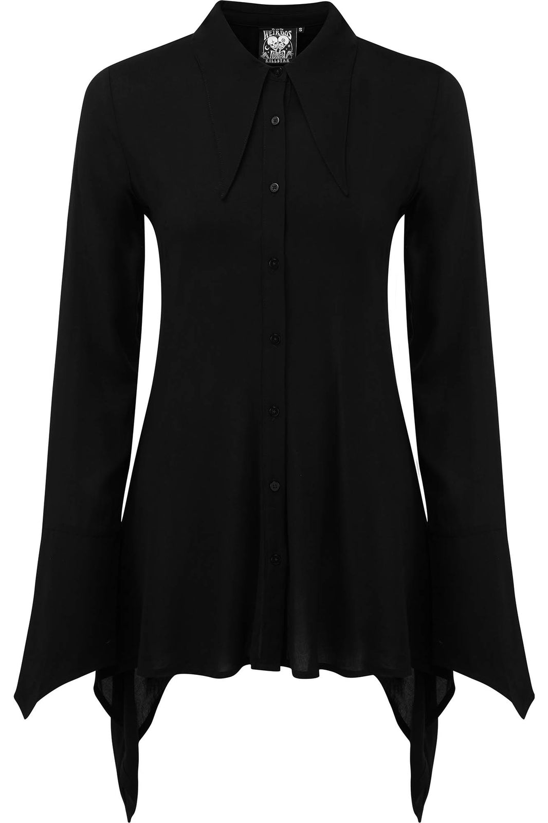 Necromantica Button-Up Shirt